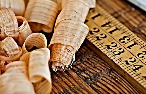 A arte de trabalhar a madeira