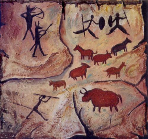A arte rupestre