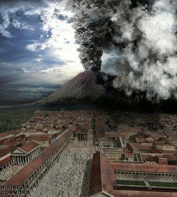 A destruição de Pompeia