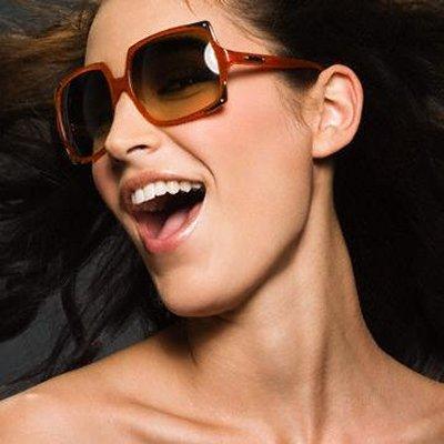 A escolha dos óculos de sol!