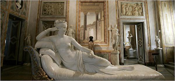 A Escultura De Canova E Bernini