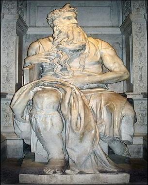 A Escultura Moisés