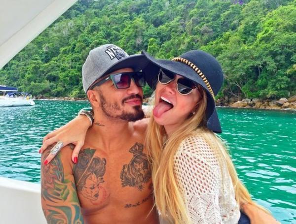 Aline e Fernando estão namorando