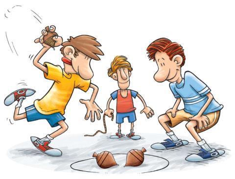 Antigas brincadeiras melhoram o desenvolvimento dos filhos