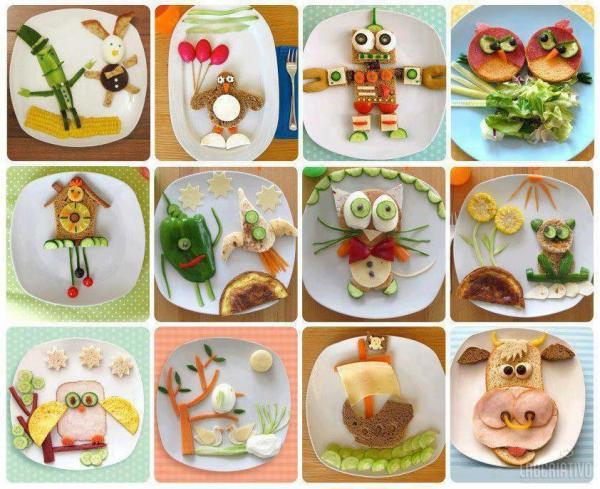 Arte na cozinha: alimentação saudável para crianças