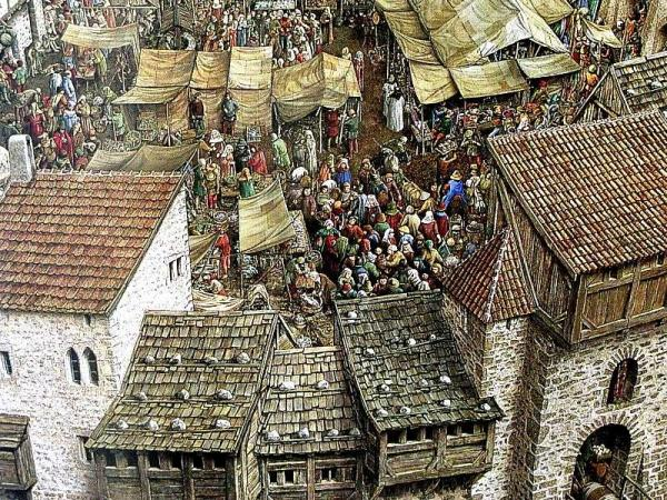 As cidades na Idade Média