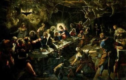As últimas Ceias de Castagno e Tintoretto, semelhanças e diferenças