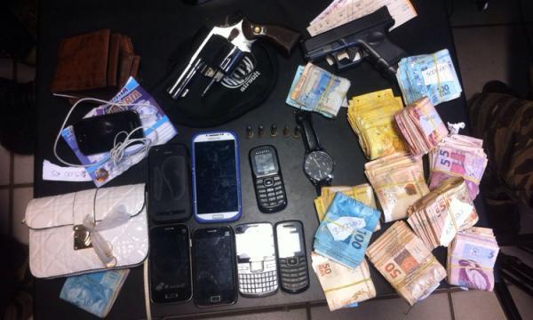 Bandidos são presos após roubarem cerca de R$ 30 mil de igreja com ajuda de ex-pastor