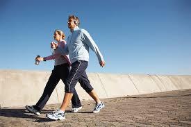 Benefícios da caminhada e corrida