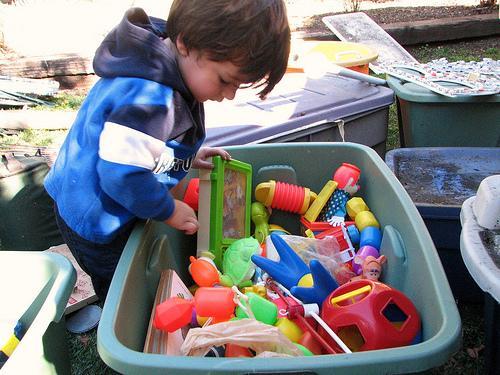 Brinquedos educativos para as crianças do pré-escolar