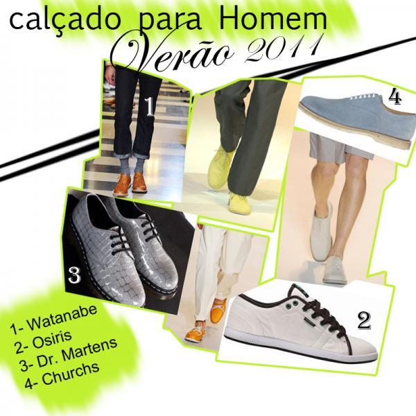 Calçado Masculino - Verão 2011