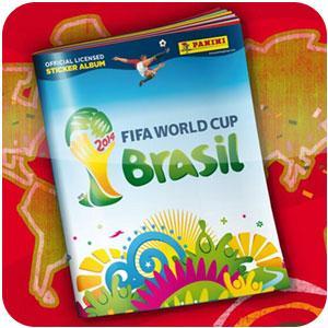 Colecione as figurinhas da Copa do Mundo 2014
