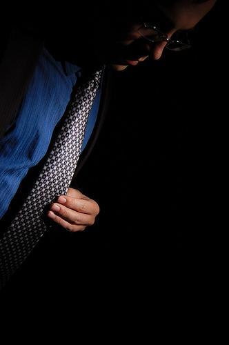 Com que gravata eu vou?