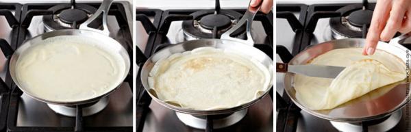 Como fazer panquecas/crepes