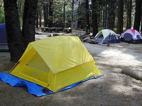 Como montar o seu acampamento