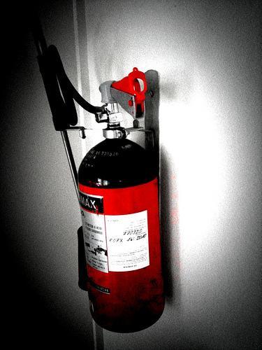 Como usar um extintor