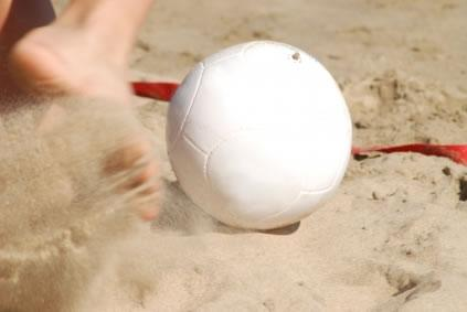 Futebol..na praia!