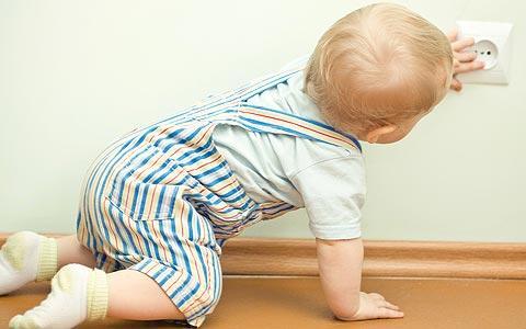 Cuidado com crianças em casa