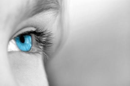 Cuidado olhos secos