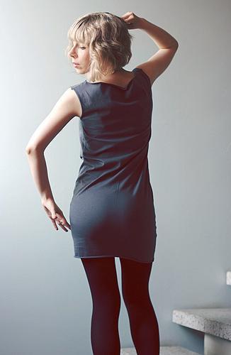 De vestido Curto
