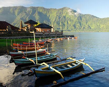 Destino de viagem para Bali na Indonésia