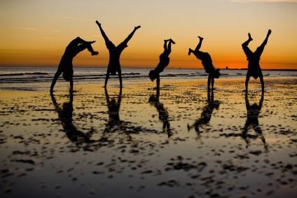 Em ritmo de capoeira