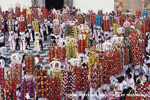 Festa dos Tabuleiros em Tomar