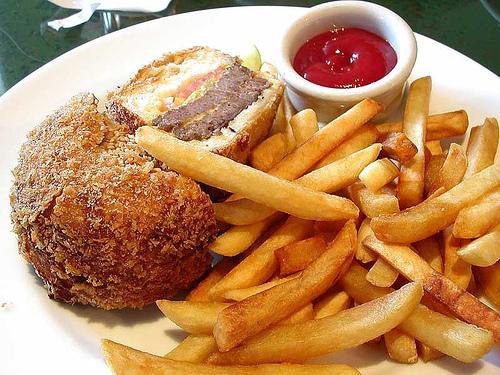 Controle o consumo de fritos