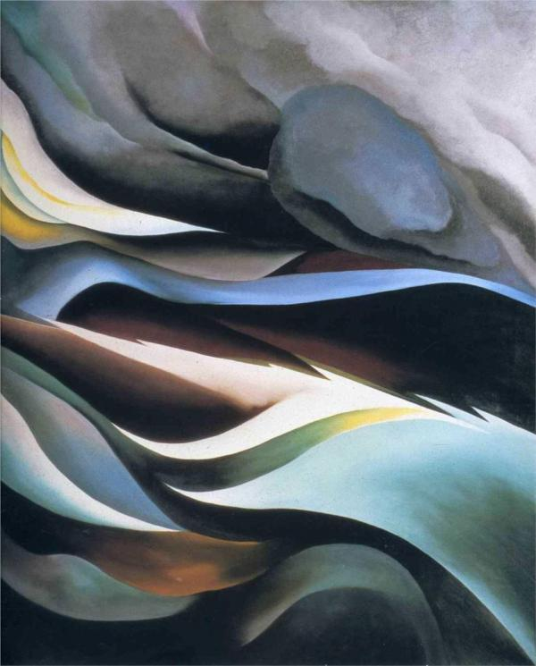 From the Lake por Georgia O'Keeffe