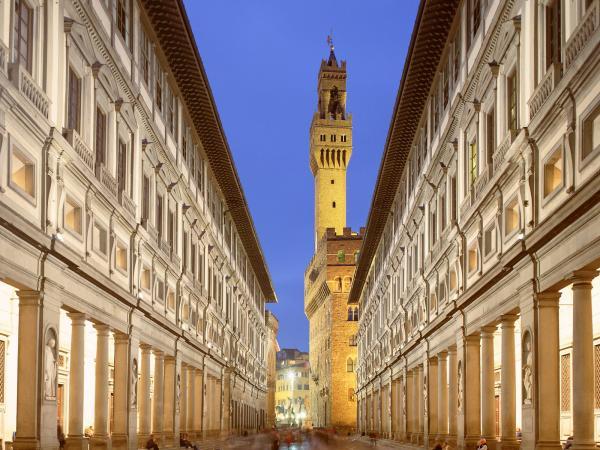 Galeria Uffizi, em Florença