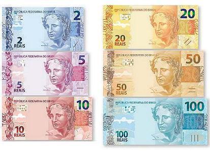História do dinheiro brasileiro