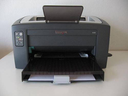 Impressoras - Laser ou a jato de tinta?