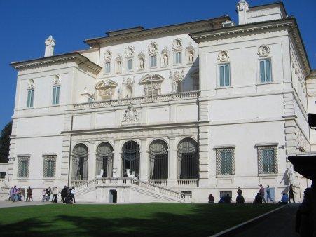 Início à Galeria Borghese: as sete salas