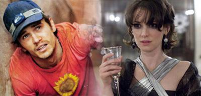 """James Franco e Winona Ryder juntos em """"The Stare"""""""