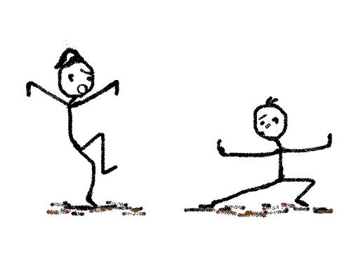 kung fu: tempo e habilidade