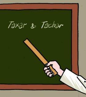 Língua Portuguesa: Tachar E Taxar