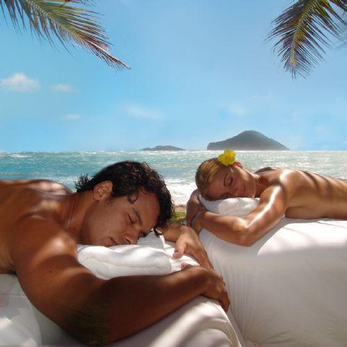 Massagem para curar e relaxar