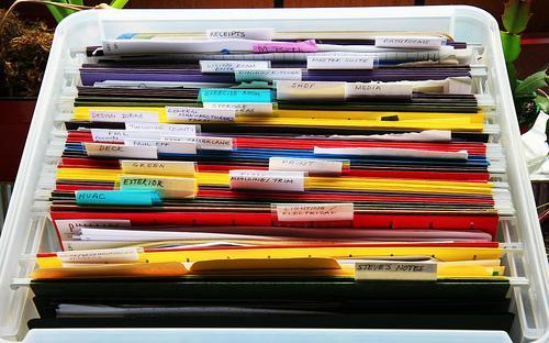 Medidas a adoptar para ter um arquivo organizado