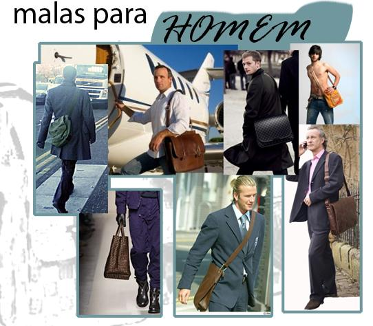 Moda Masculina - Malas para Homem
