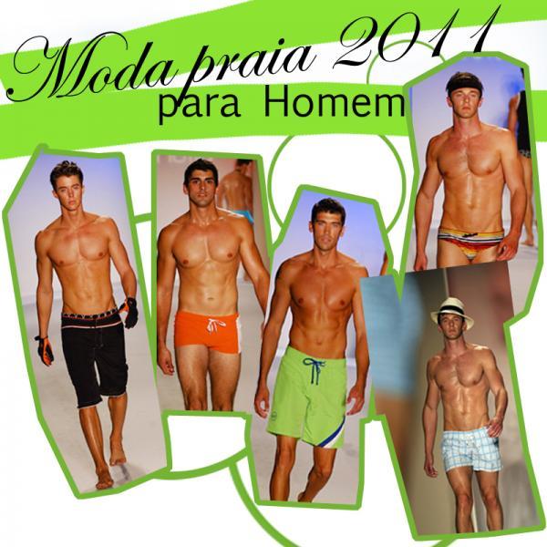 Moda Praia para Homem - Verão 2011