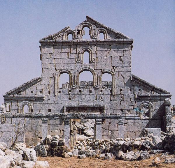 Nascimento dos espaços arquitectónicos cristãos