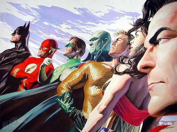 """Novo Batman e """"Liga da Justiça"""" em 2013"""