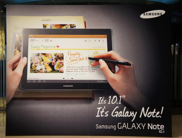 Novo Galaxy Note Samsung 10.1