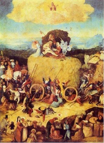 O Carro de Feno, Hieronymus Bosch