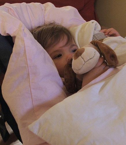 O que fazer quando o bebê está com febre
