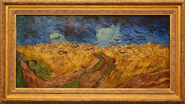 O segredo de Van Gogh (Campo de Trigo com corvos)