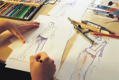 Os designers da moda atual