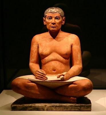 Os deuses egípcios e os escribas, uma classe social próspera!
