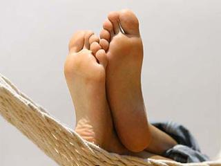 Os nossos pés