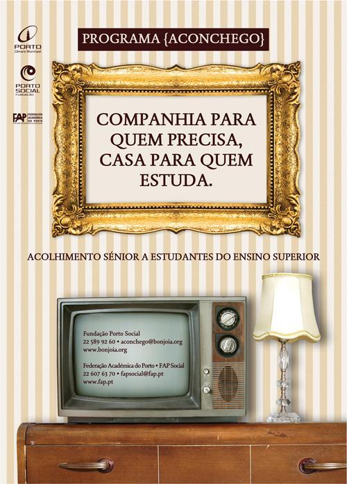 Programa Aconchego – Residência para estudantes no Porto